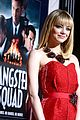 emma stone ryan gosling gangster squad premiere 17
