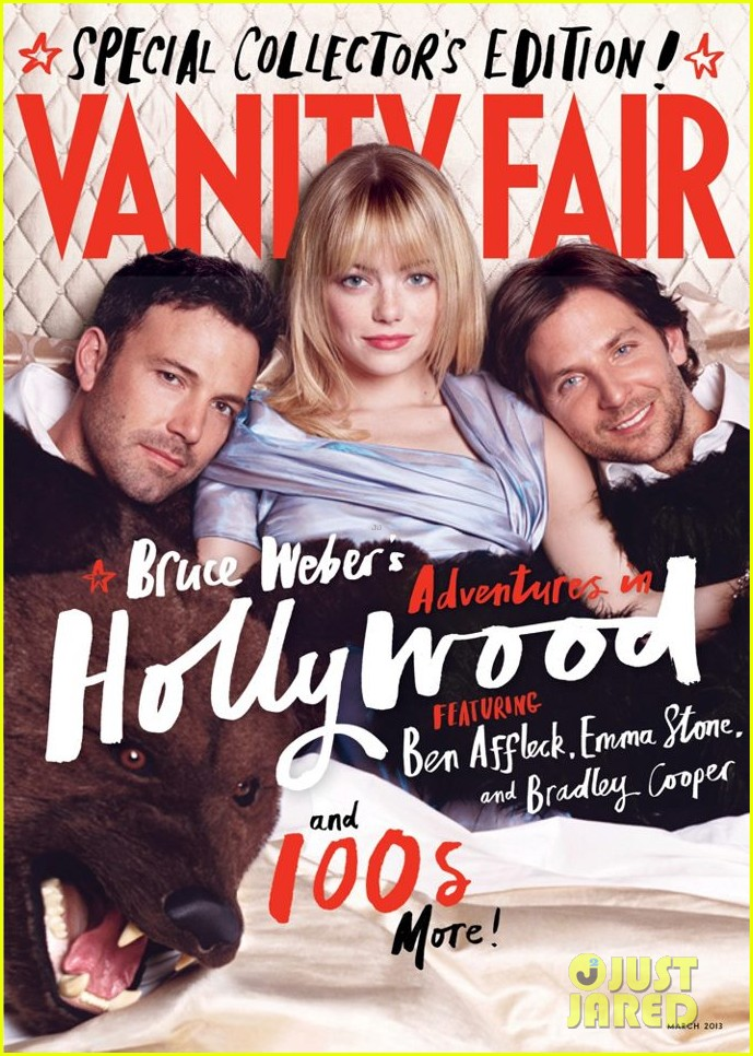 emma stone ben affleck cover vanity fair hollywood edition 022801465