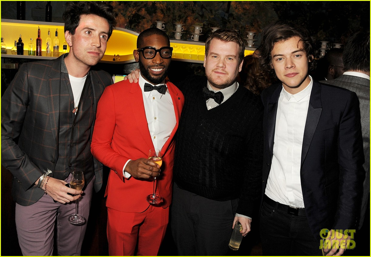 harry styles jessie j gq london collections men party 04