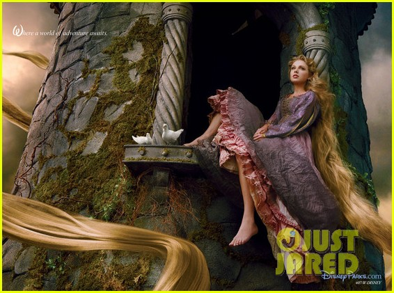 taylor swift rapunzel for disney dream 03