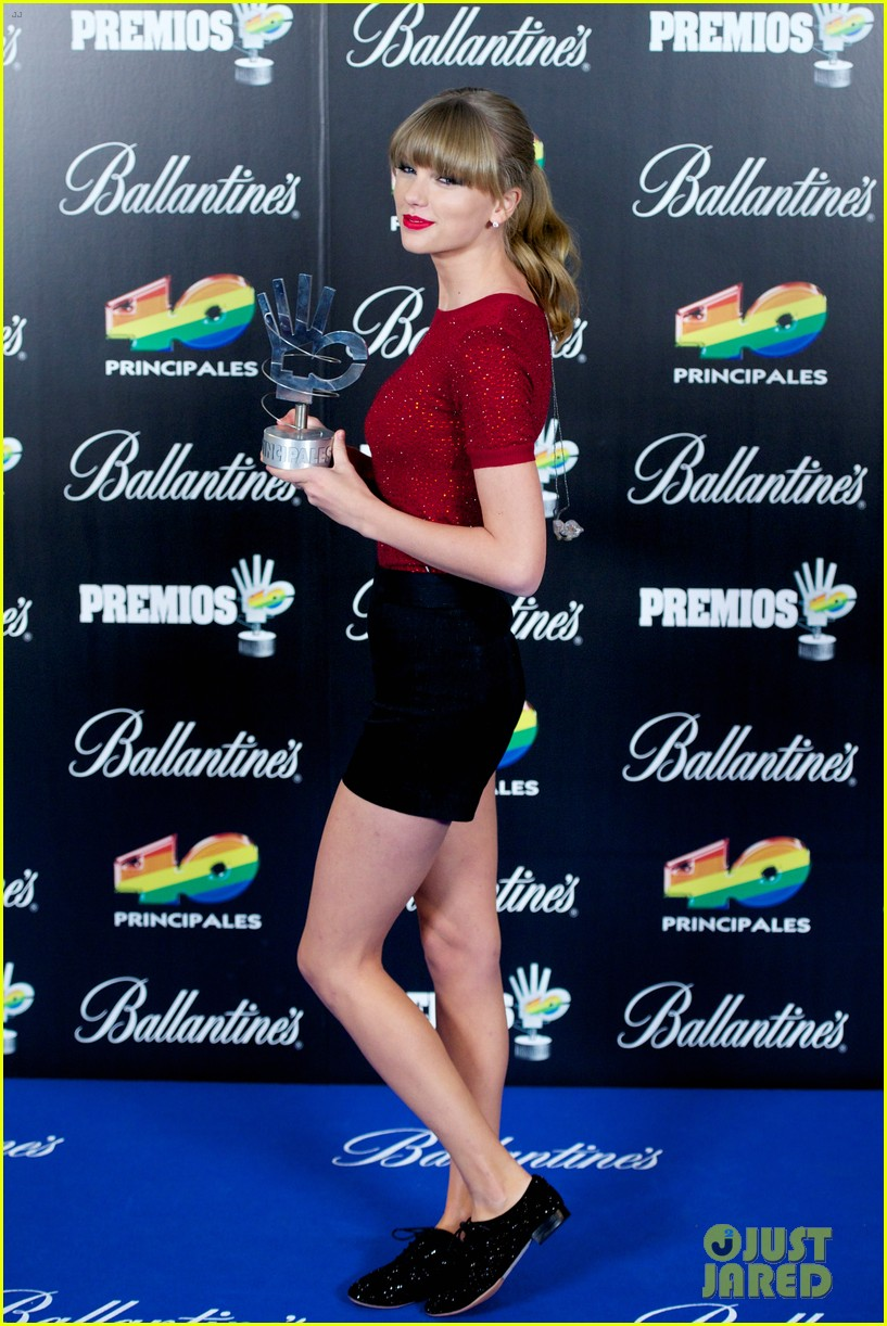 taylor swift 40 principales performance watch now 112798254