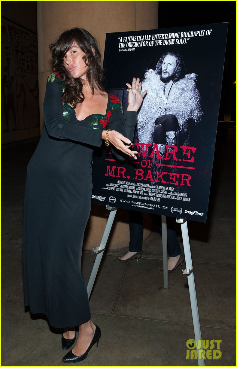 jessica szohr jeremy piven beware of mr baker screening 12