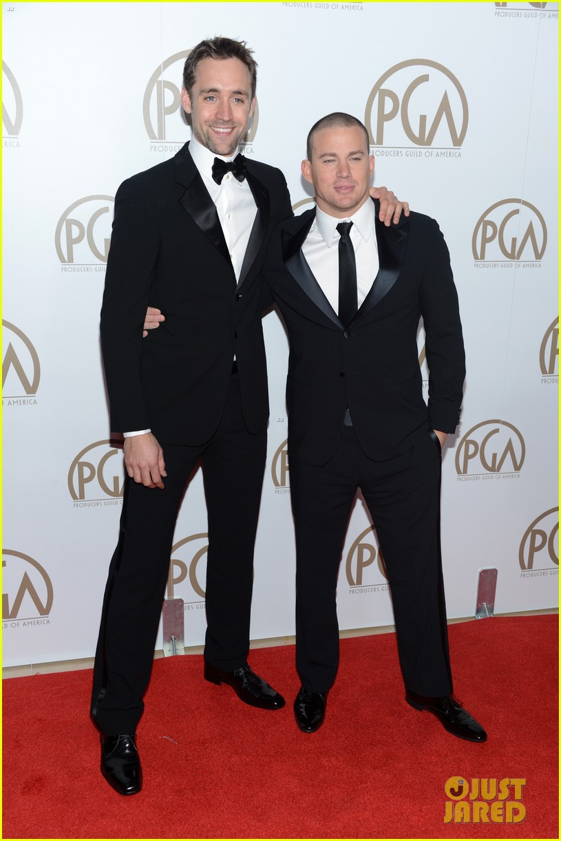 matt bomer channing tatum producers guild awards 082799186