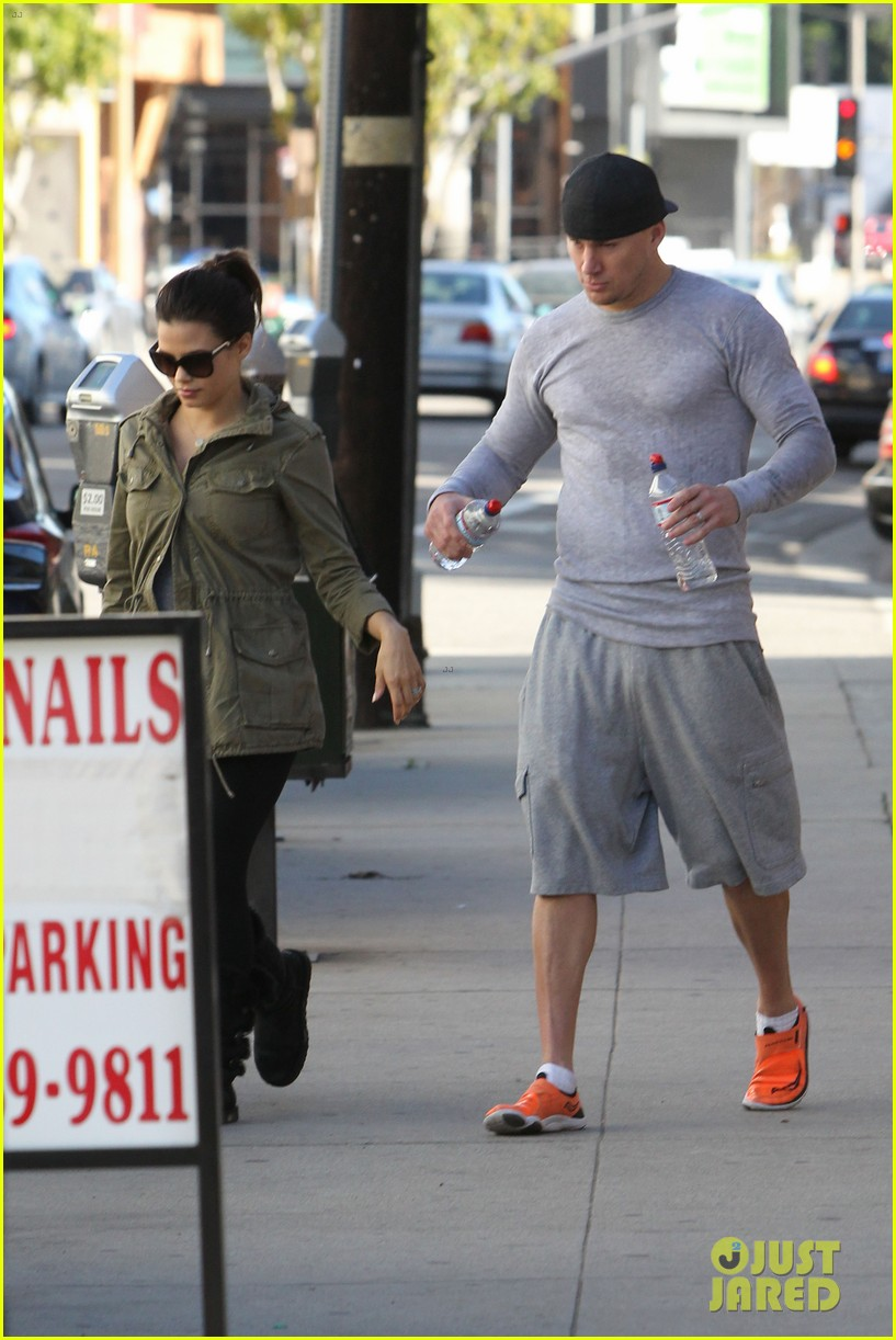 channing tatum jenna dewan workout couple 052800291