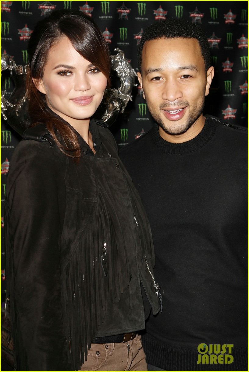 chrissy teigen john legend professional bull riders party 132785518