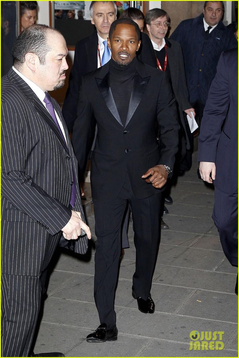 kerry washington jamie foxx django unchained paris premiere 102786415