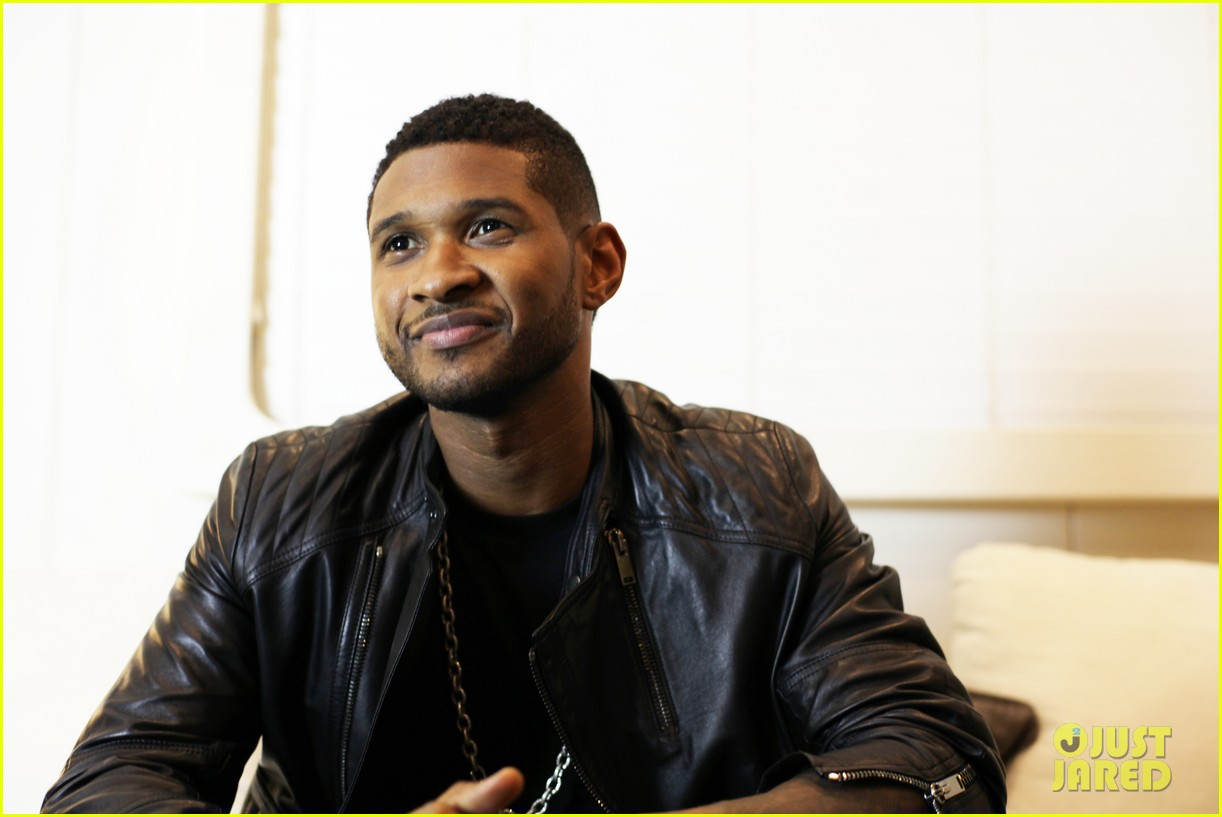usher mercedes benz super bowl commercial exclusive pics 042792643