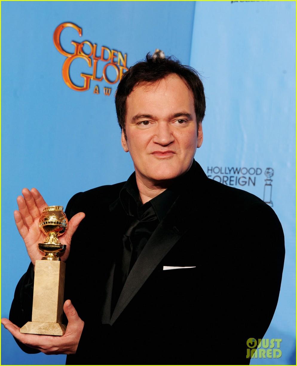 christoph waltz quentin tarantino win golden globes 2013 08