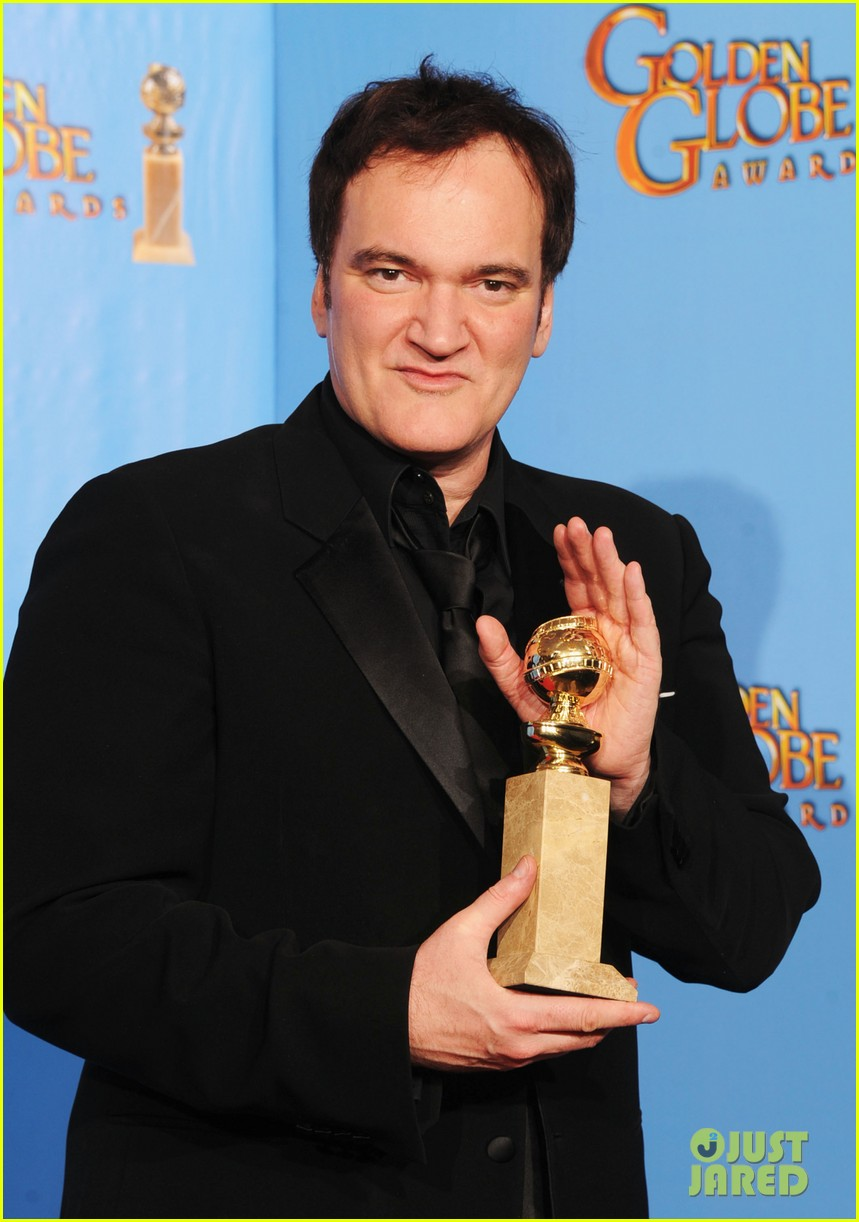 christoph waltz quentin tarantino win golden globes 2013 192791638