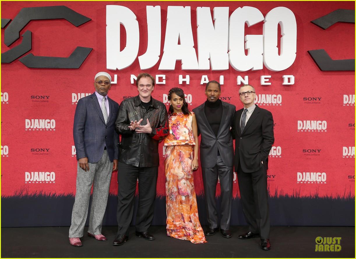 kerry washington & jamie foxx django unchained berlin premiere 012787063
