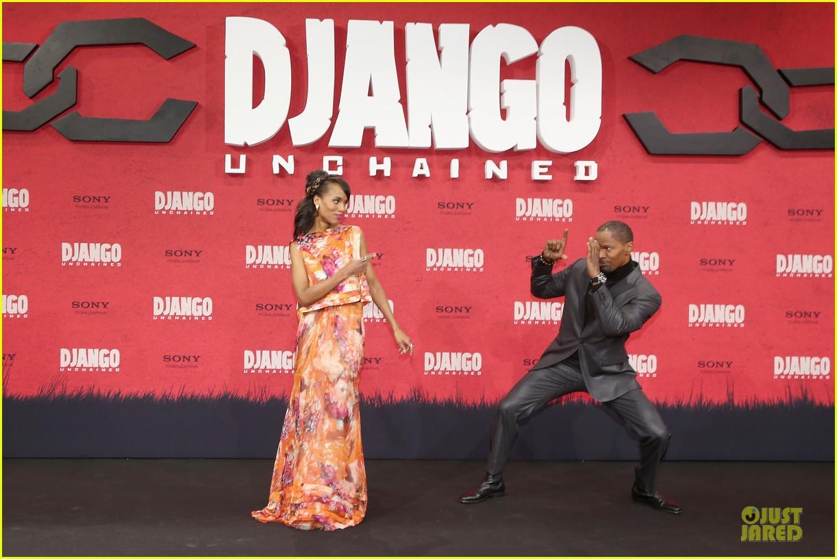 kerry washington & jamie foxx django unchained berlin premiere 122787074
