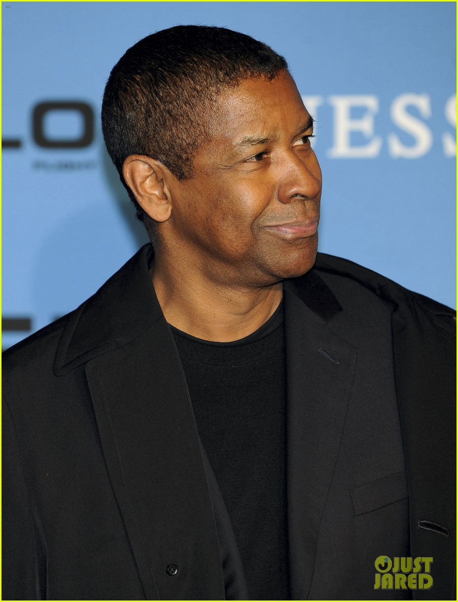 denzel washington flight madrid premiere 03