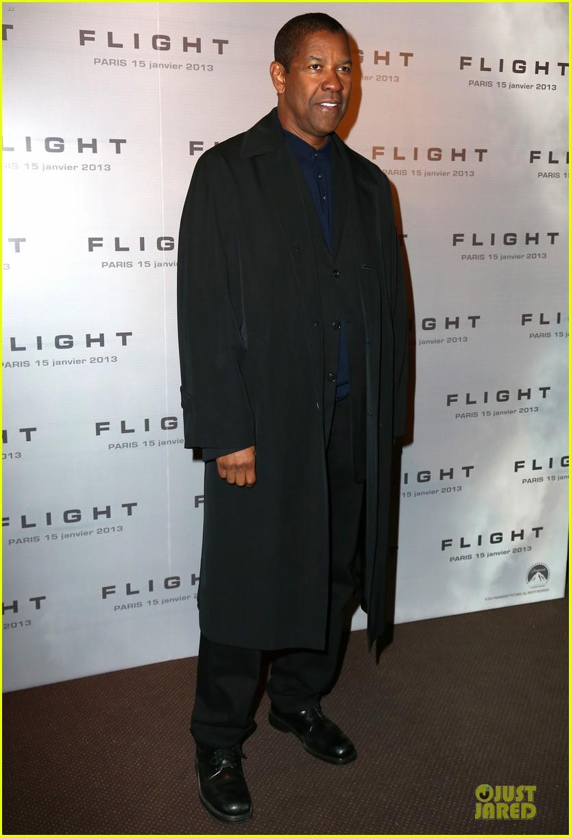denzel washington flight paris premiere 08