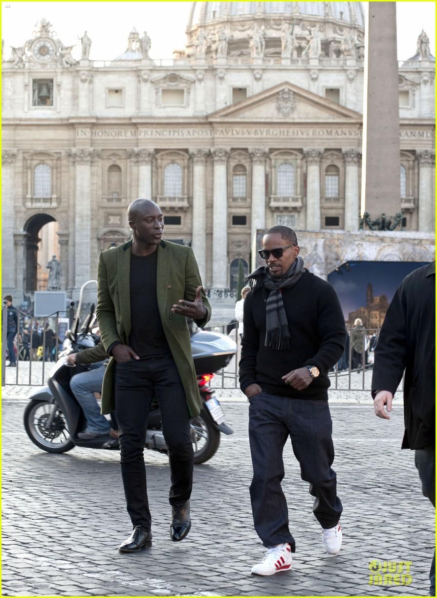 kerry washington & jamie foxx django unchained rome premiere 062785215
