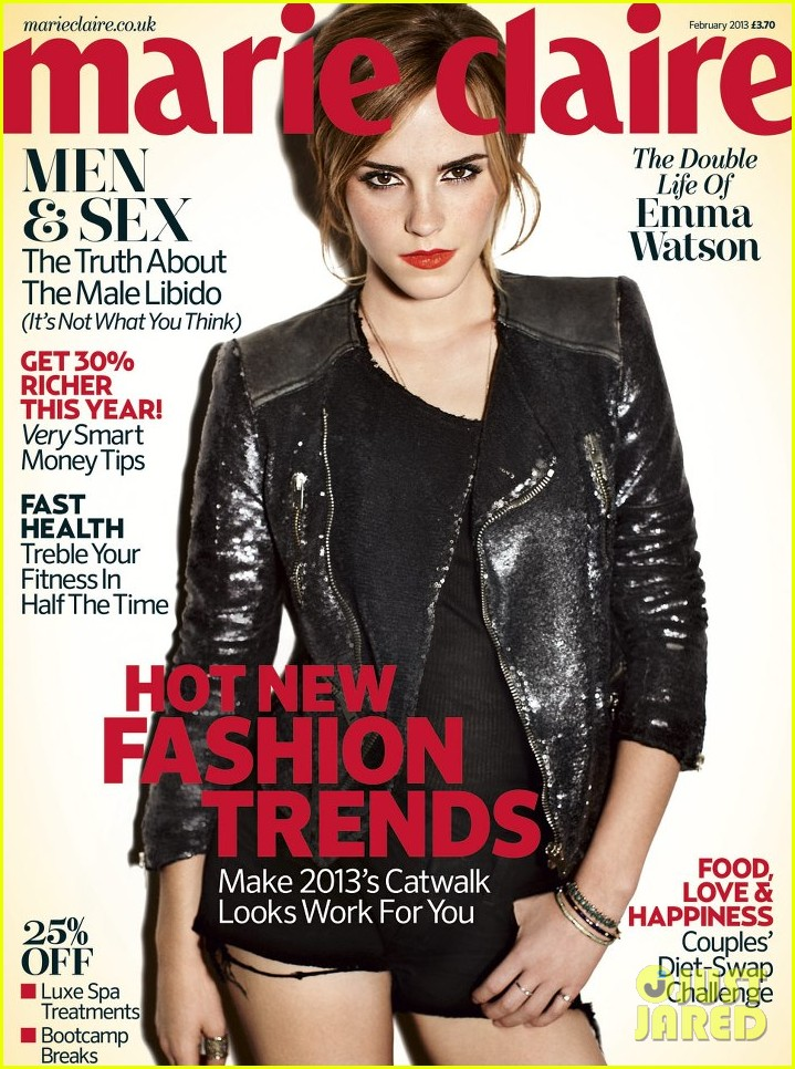 emma watson covers marie claire uk february 2013 012784688