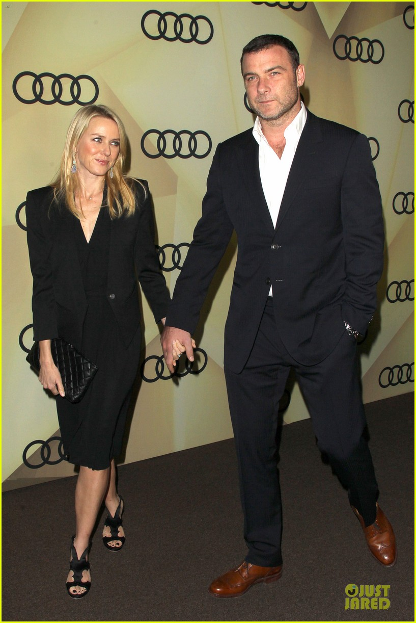 naomi watts & liev schreiber golden globes kick off cocktail party 012786062