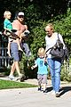 naomi watts liev schreiber sunday with kids 01