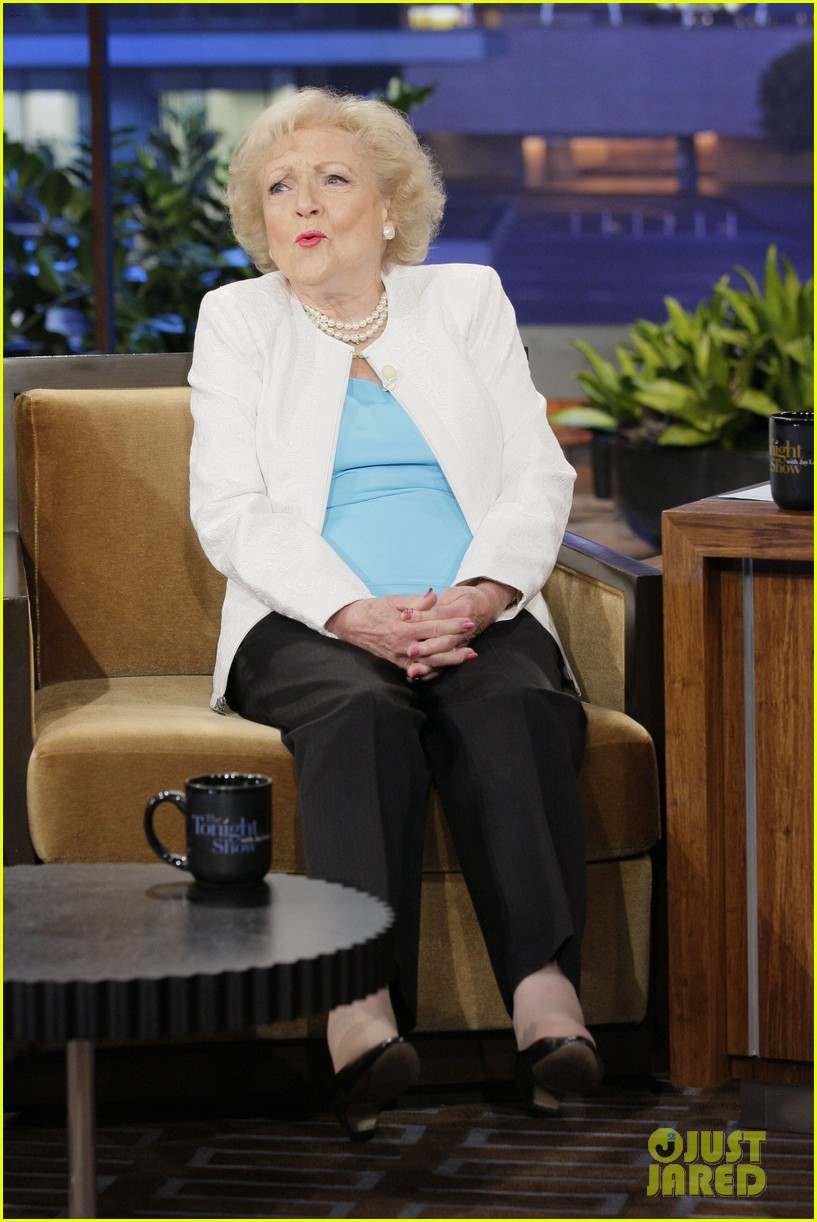 betty white tonight show with jay leno appearance 032784260