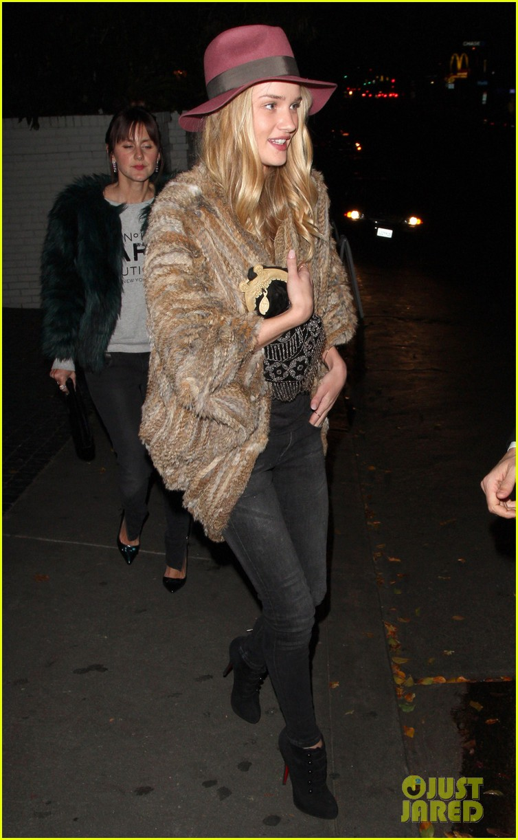 rosie huntington whiteley chateau marmont night out 032794114