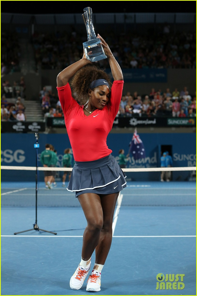 serena williams wins brisbane international tournament 012785580