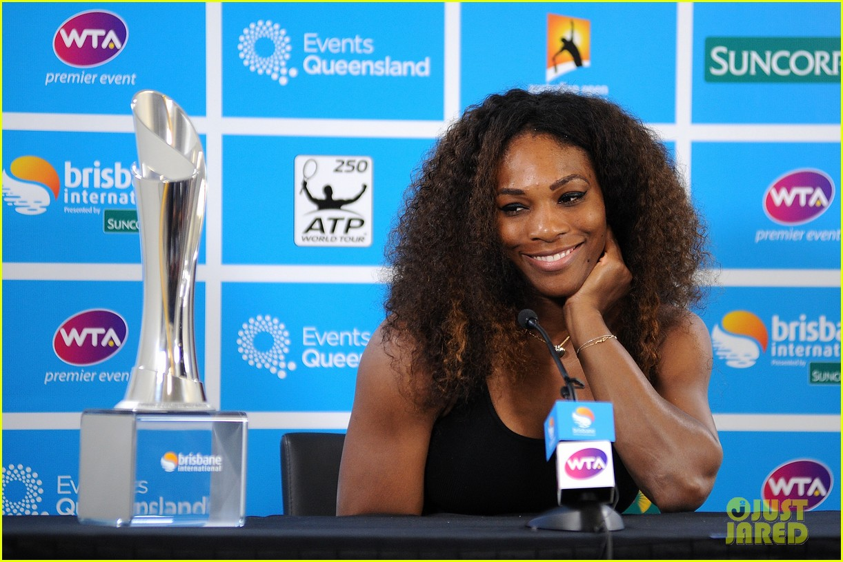 serena williams wins brisbane international tournament 032785582