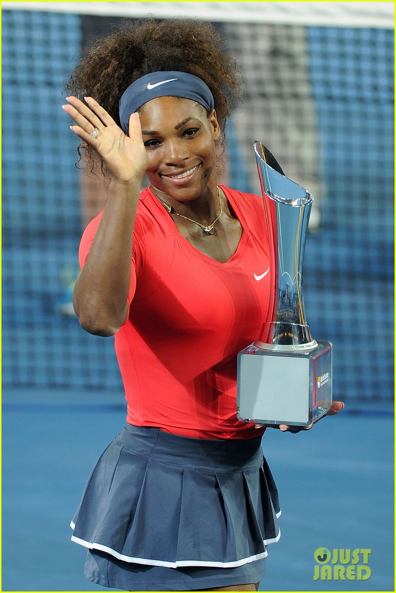 serena williams wins brisbane international tournament 07