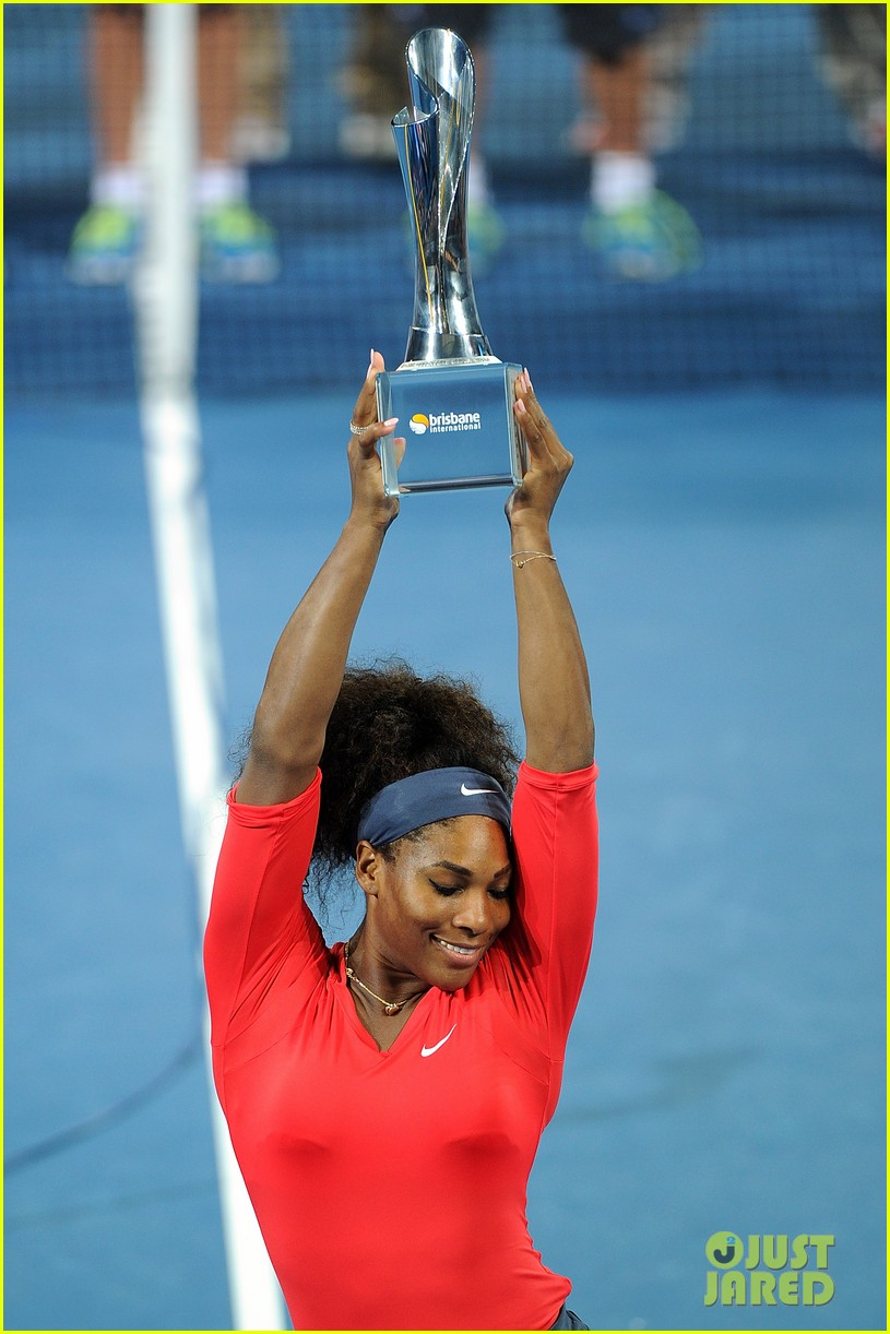 serena williams wins brisbane international tournament 11