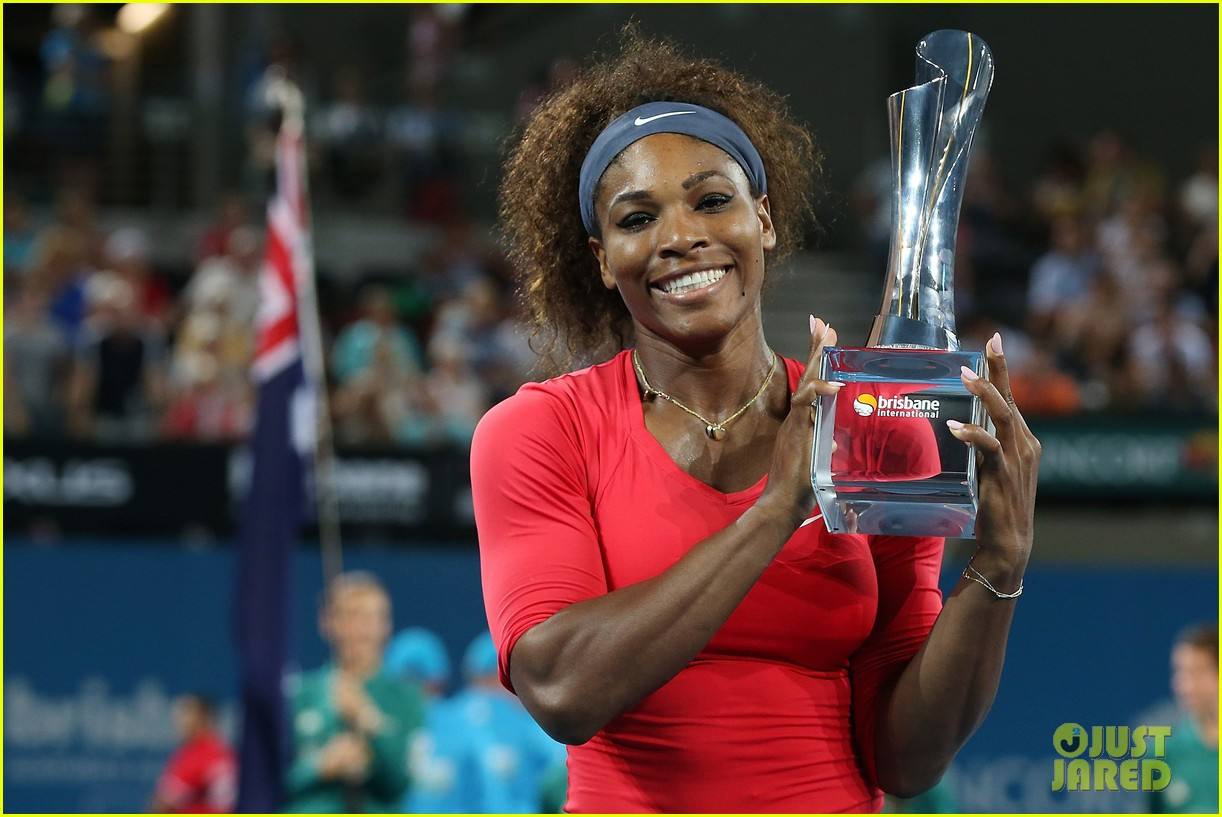 serena williams wins brisbane international tournament 122785591