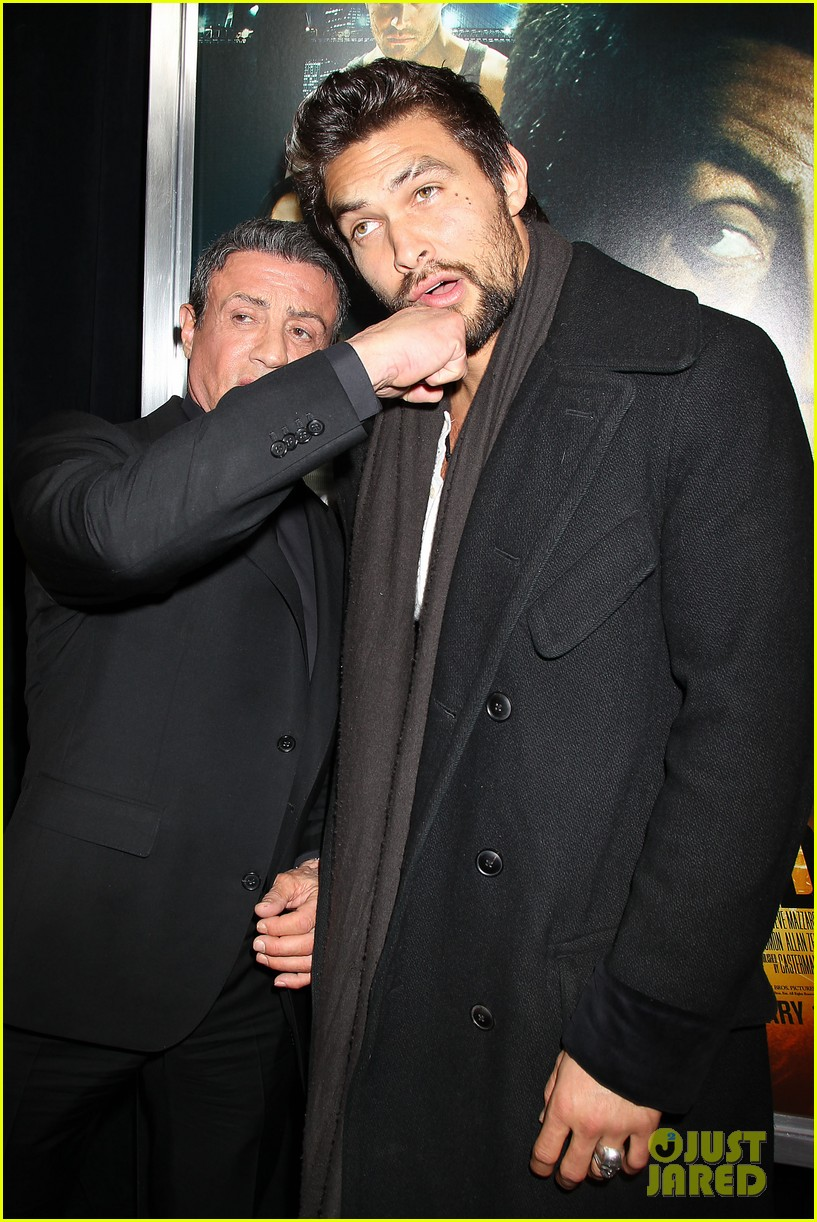 zoe kravitz jason momoa bullett to the head premiere 05