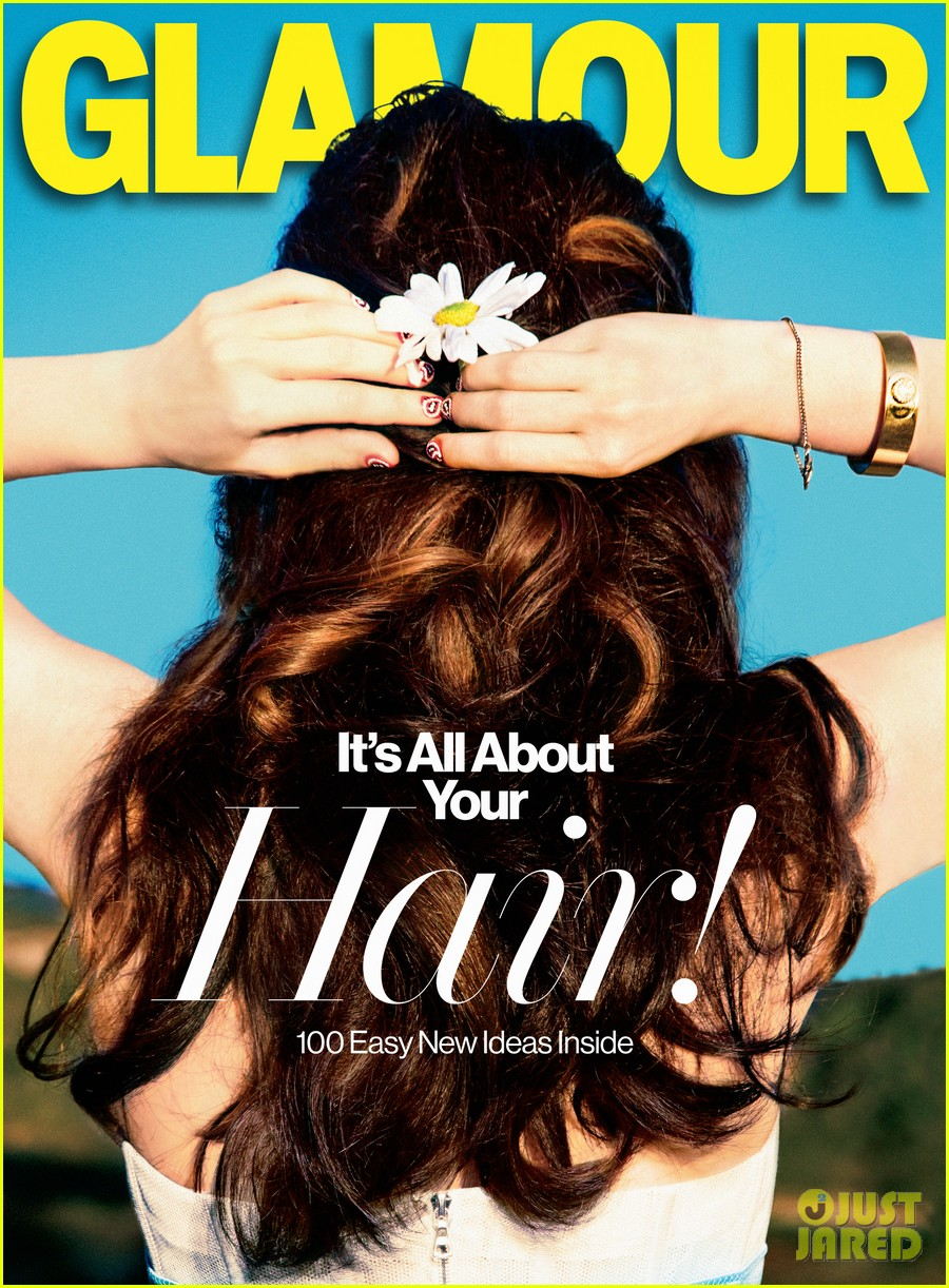 zooey deschanel covers glamour february 2013 052784341