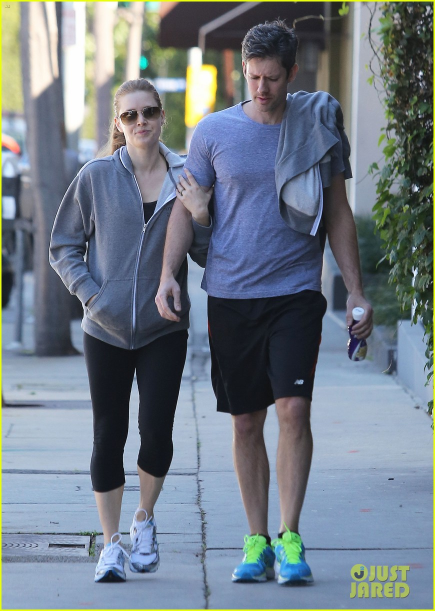 amy adams darren le gallo weho workout twosome 032816360