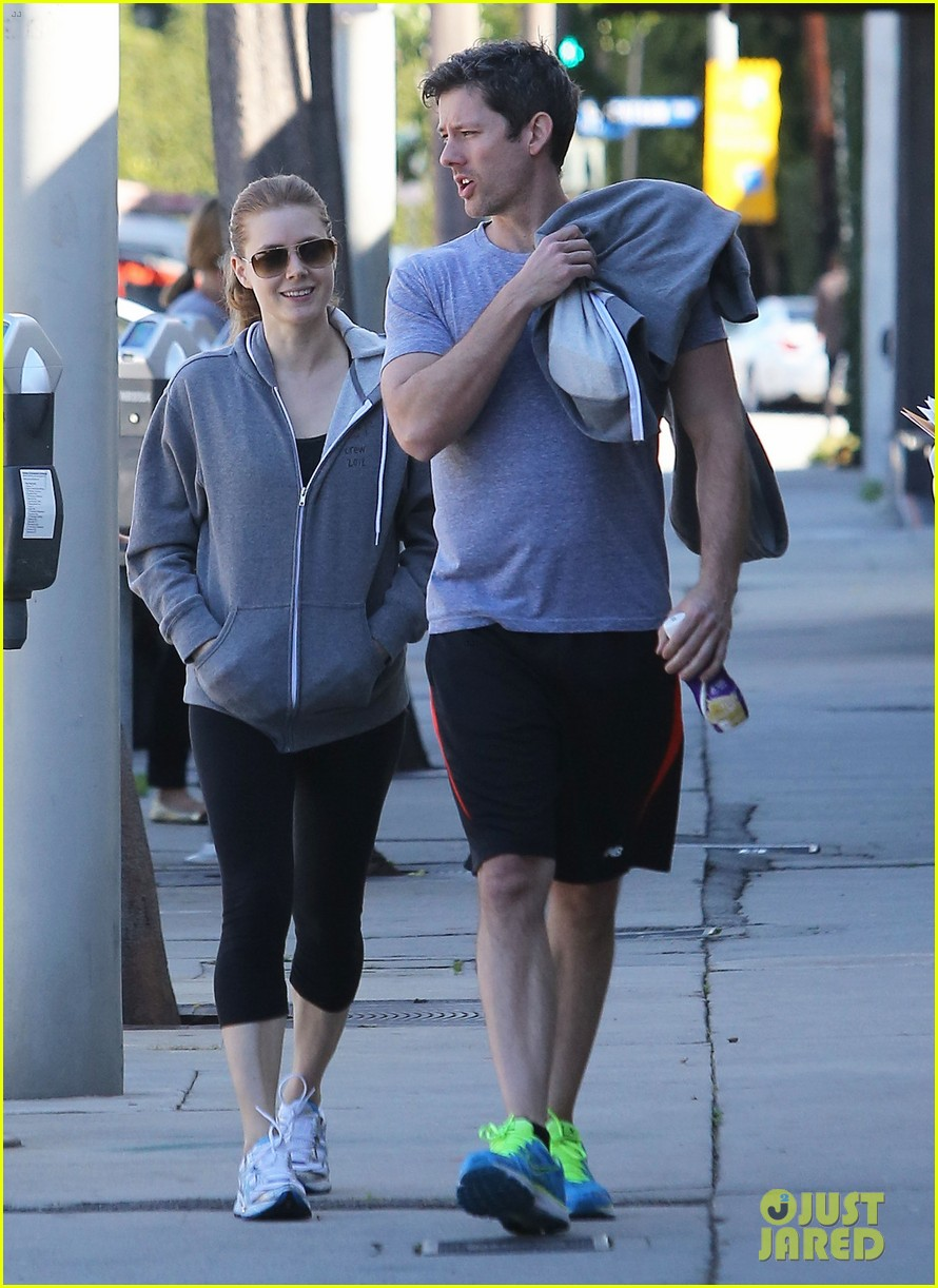 amy adams darren le gallo weho workout twosome 052816362