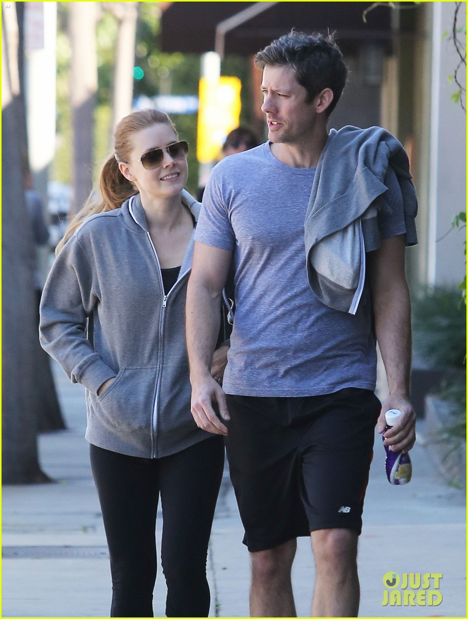 amy adams darren le gallo weho workout twosome 062816363