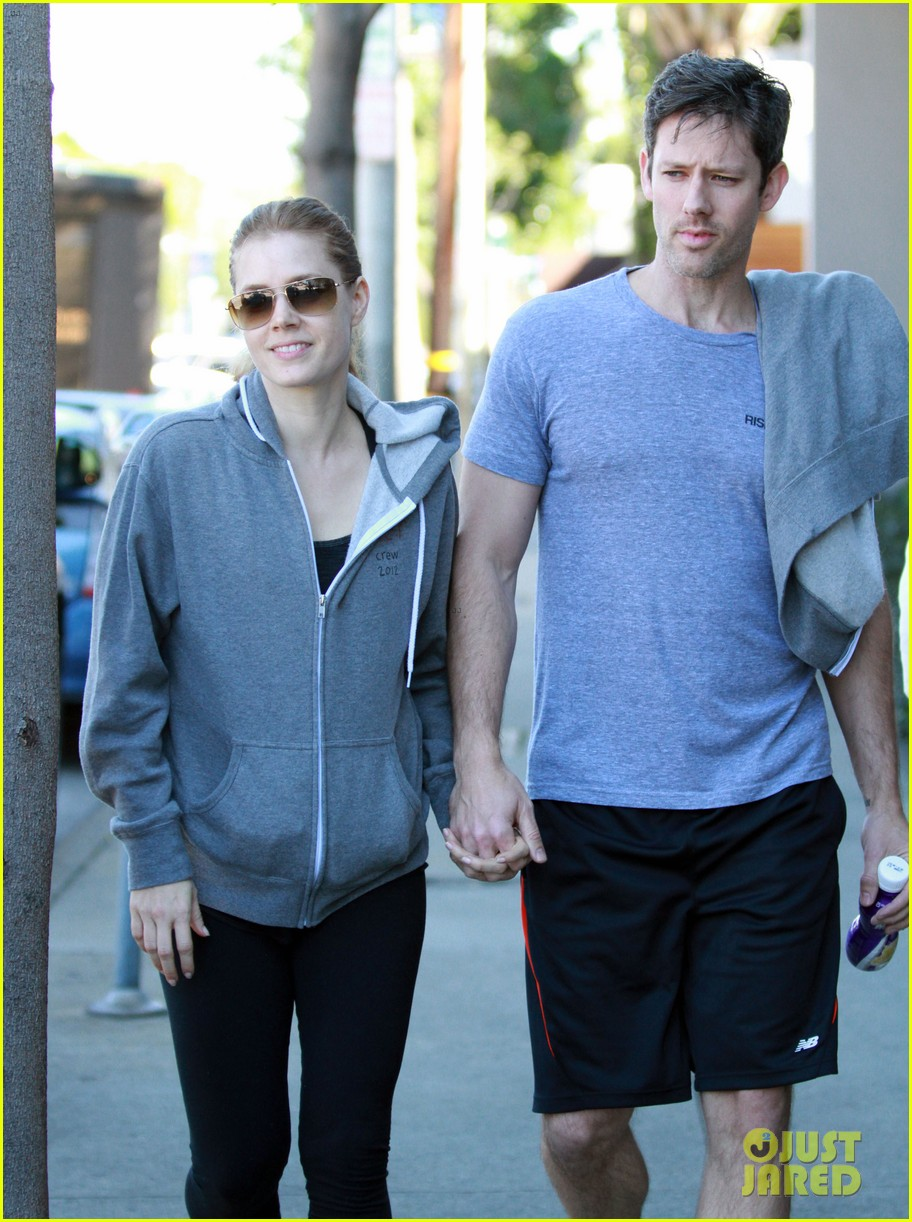 amy adams darren le gallo weho workout twosome 072816364