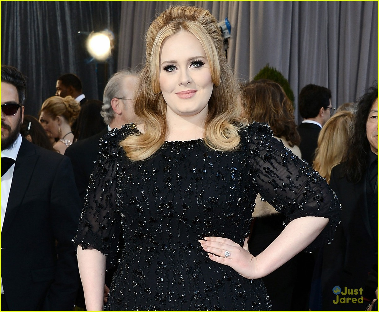 adele oscars red carpet 2013 072819164