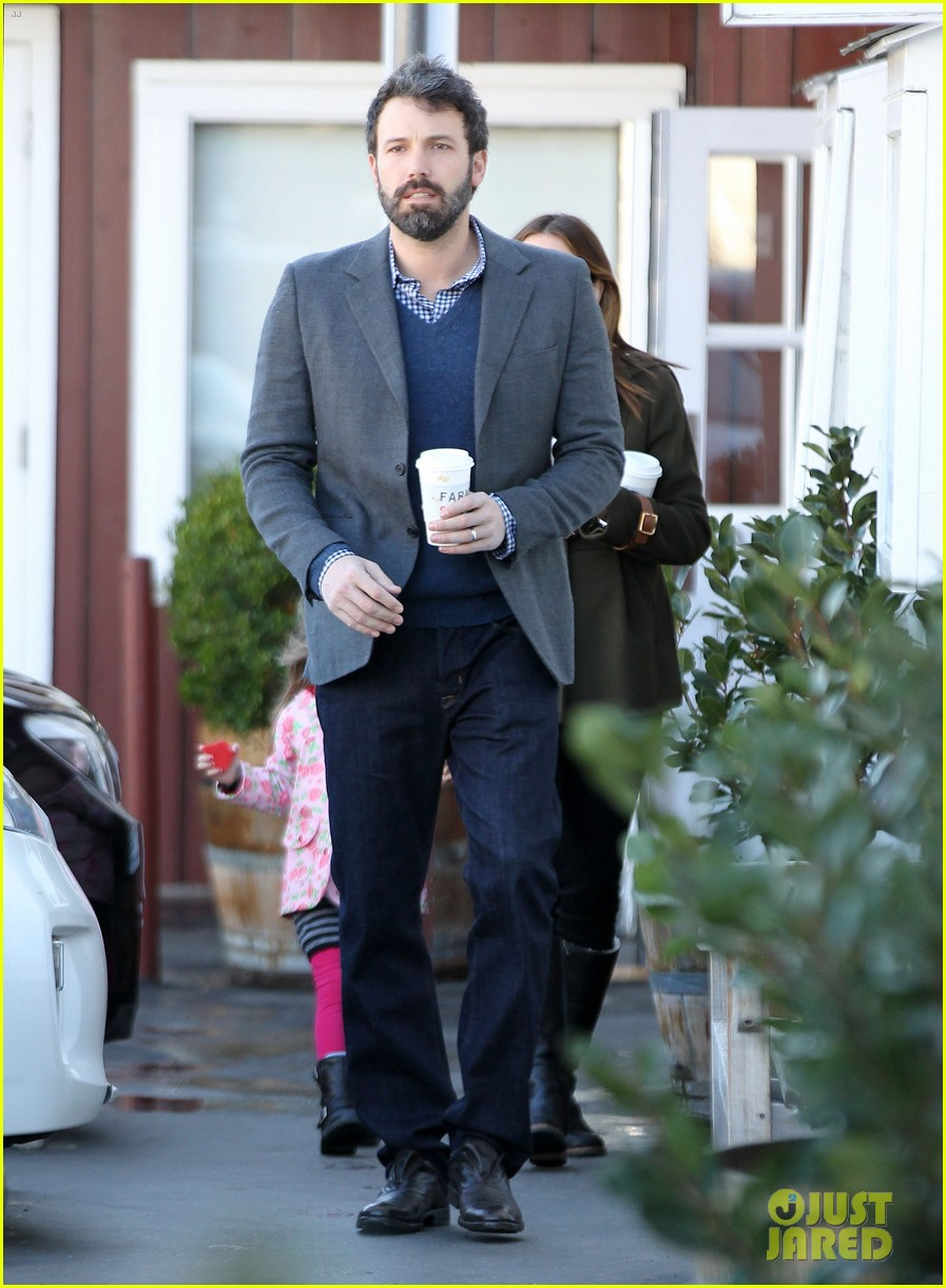 ben affleck jennifer garner breakfast with seraphina 012811507