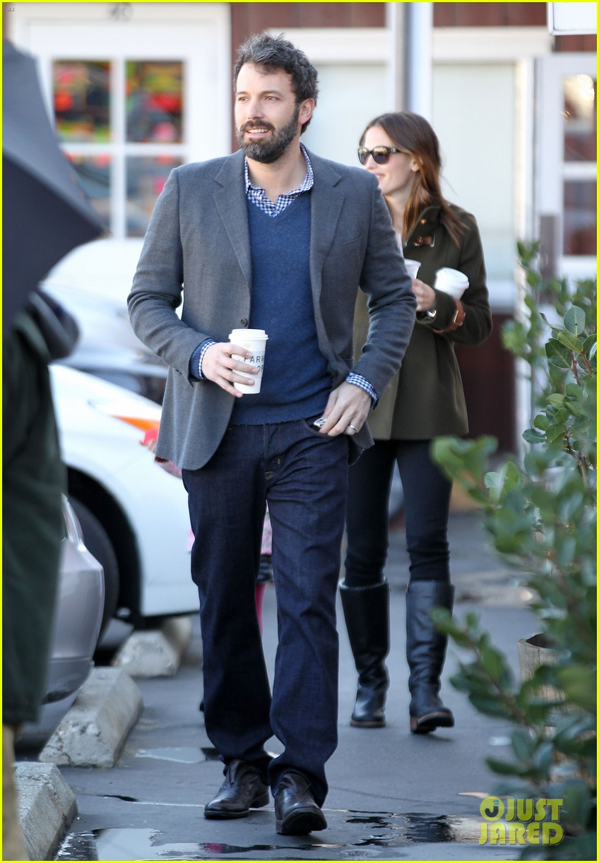 ben affleck jennifer garner breakfast with seraphina 05