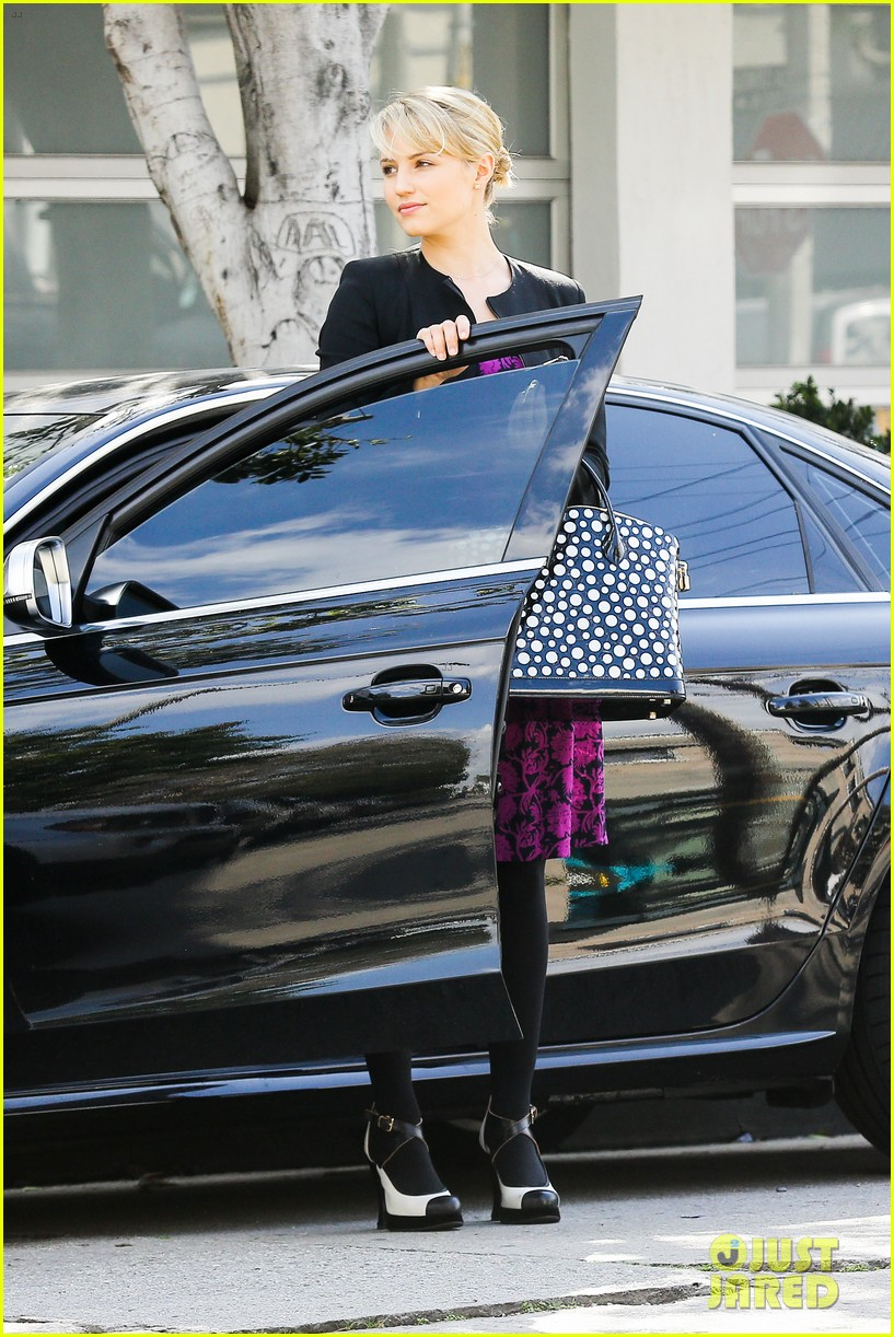 dianna agron i want to see jane lynch broadway debut 10