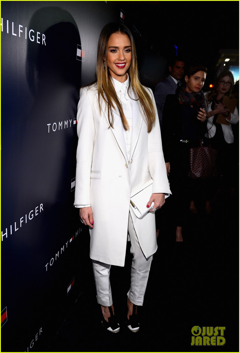 jessica alba drew barrymore tommy hilfiger store opening 12