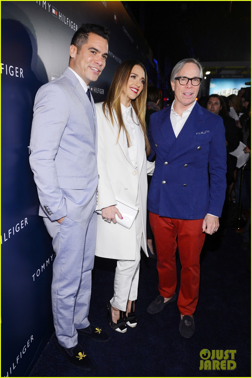 jessica alba drew barrymore tommy hilfiger store opening 182811771