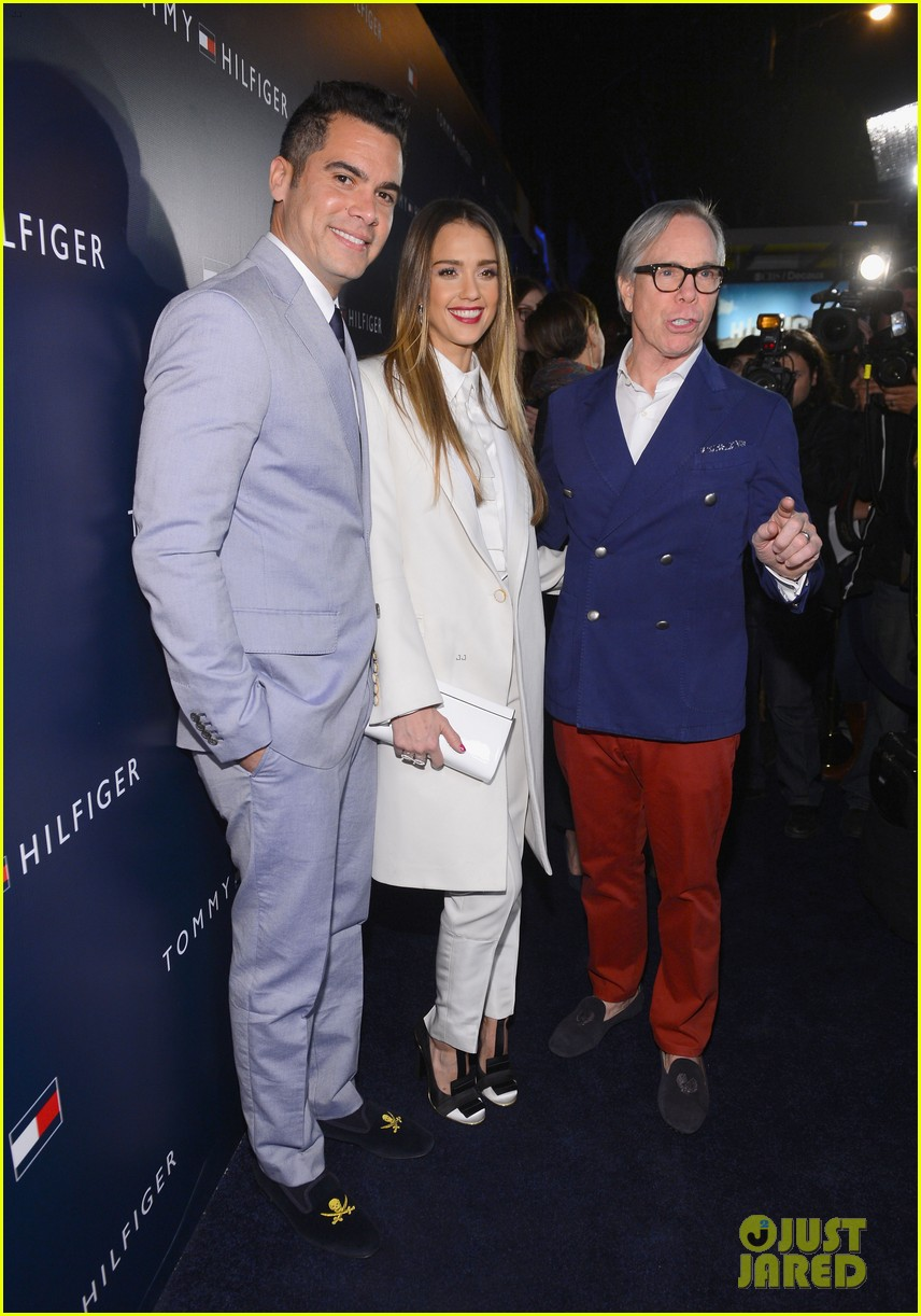 jessica alba drew barrymore tommy hilfiger store opening 192811772