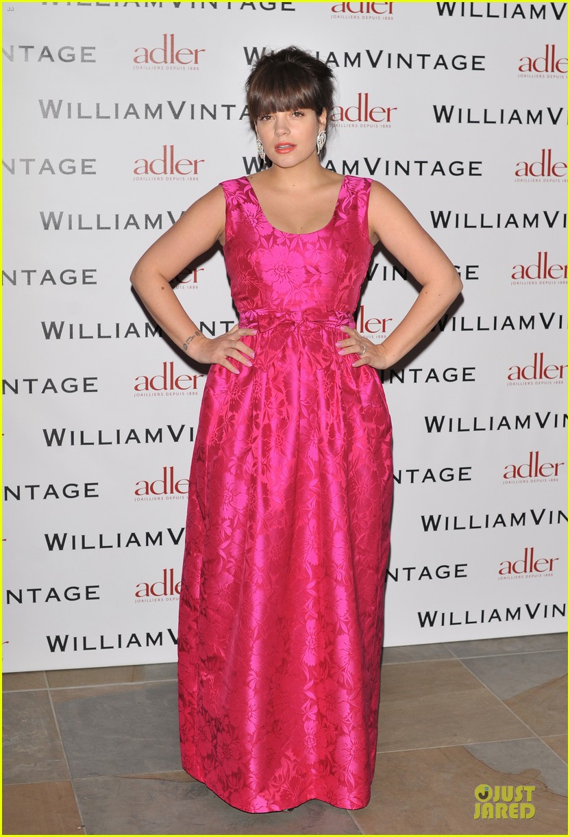 lily allen douglas booth bafa william vintage dinner 182807480
