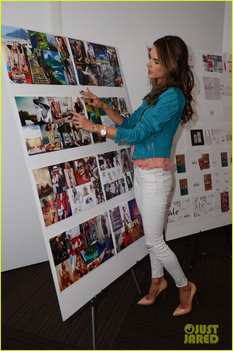 alessandra ambrosio works on ale by alessandra designs 122806126