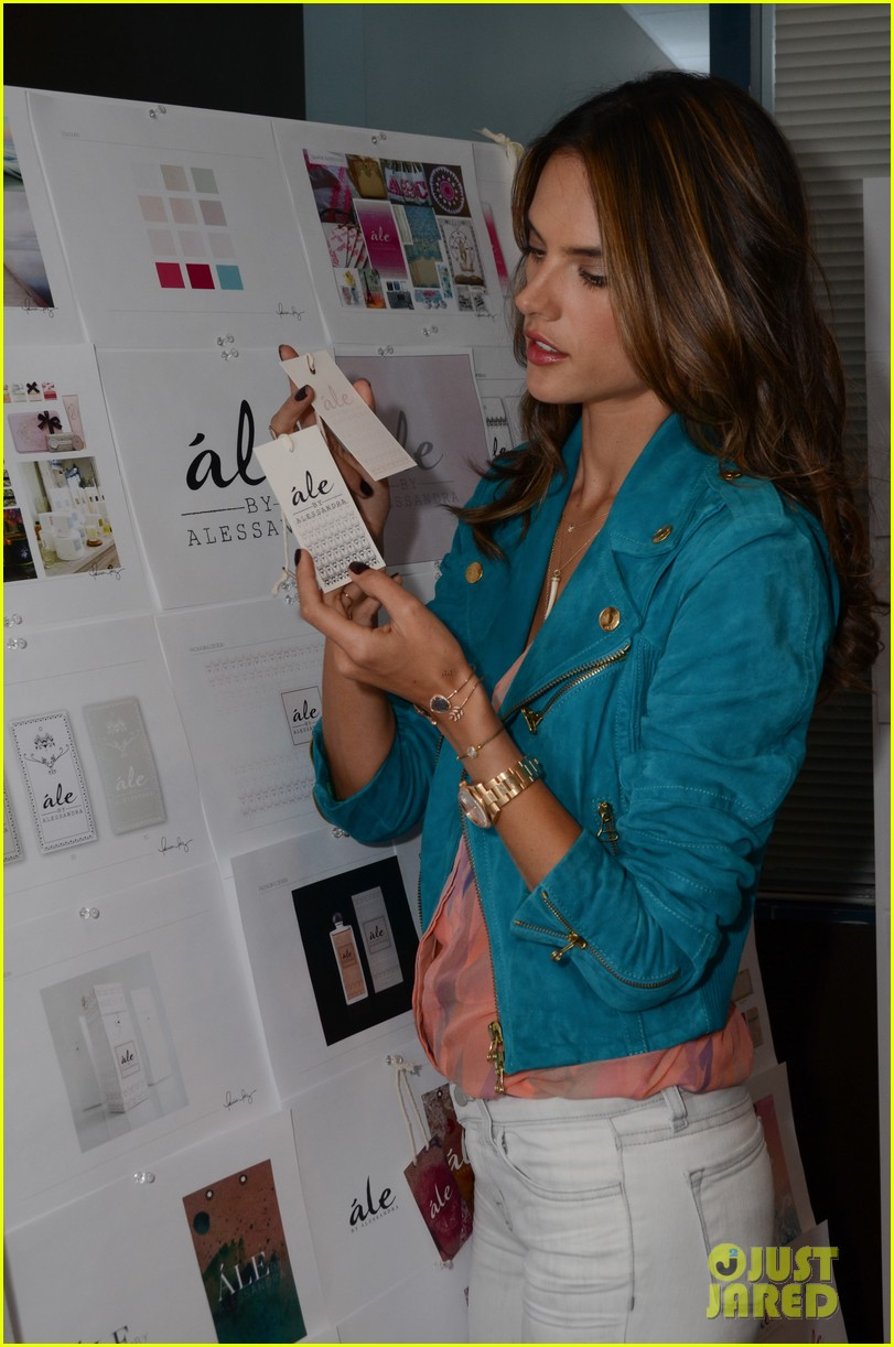 alessandra ambrosio works on ale by alessandra designs 14