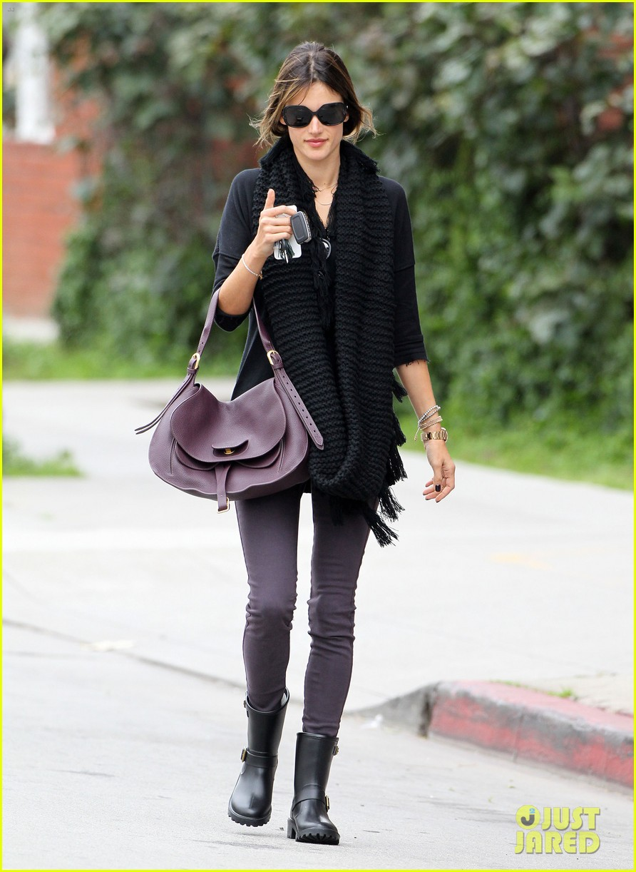 alessandra ambrosio park day with the family 262815173