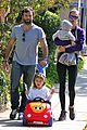 alessandra ambrosio park day with the family 10