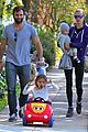 alessandra ambrosio park day with the family 17