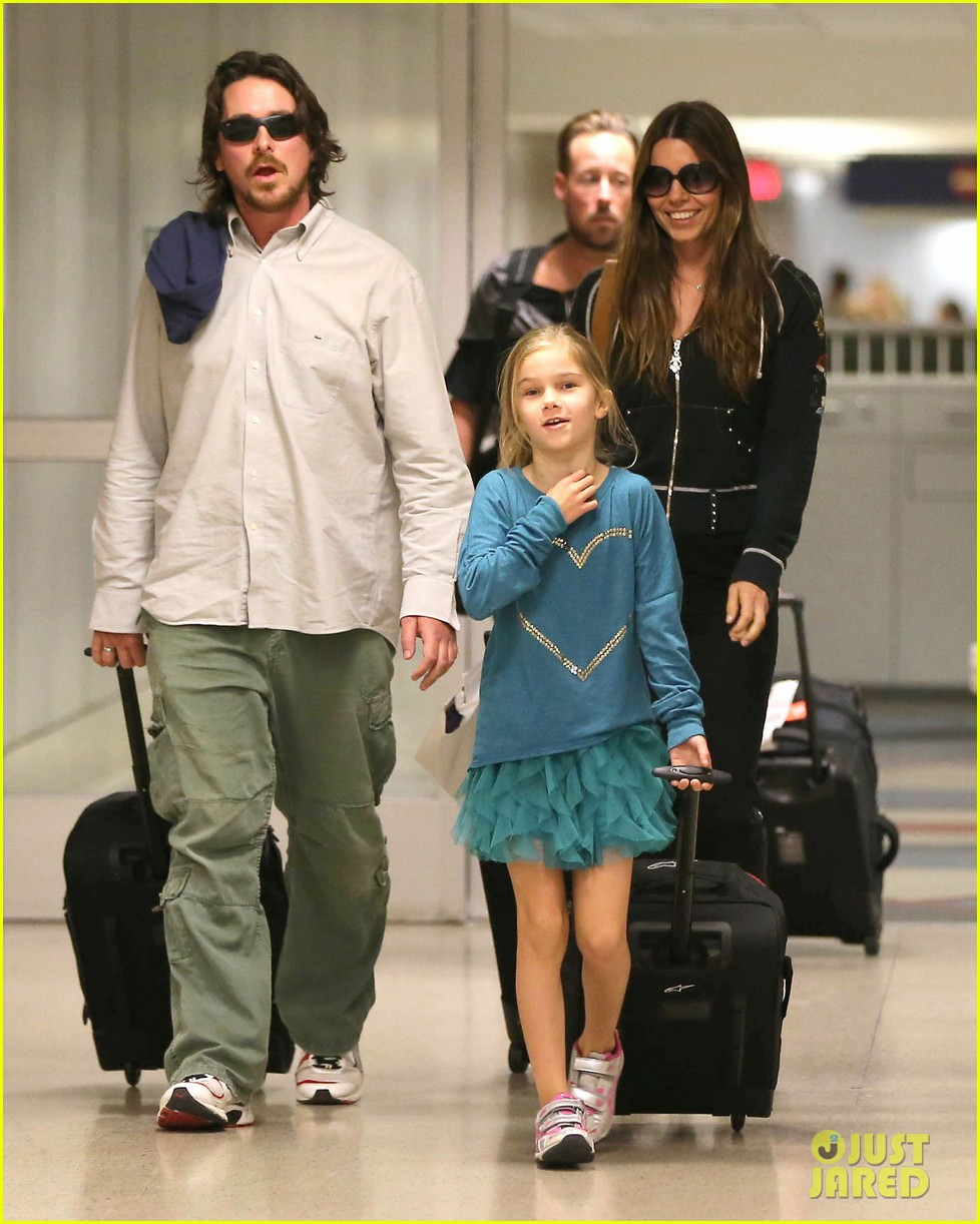 christian bale post birthday family flight 072802518