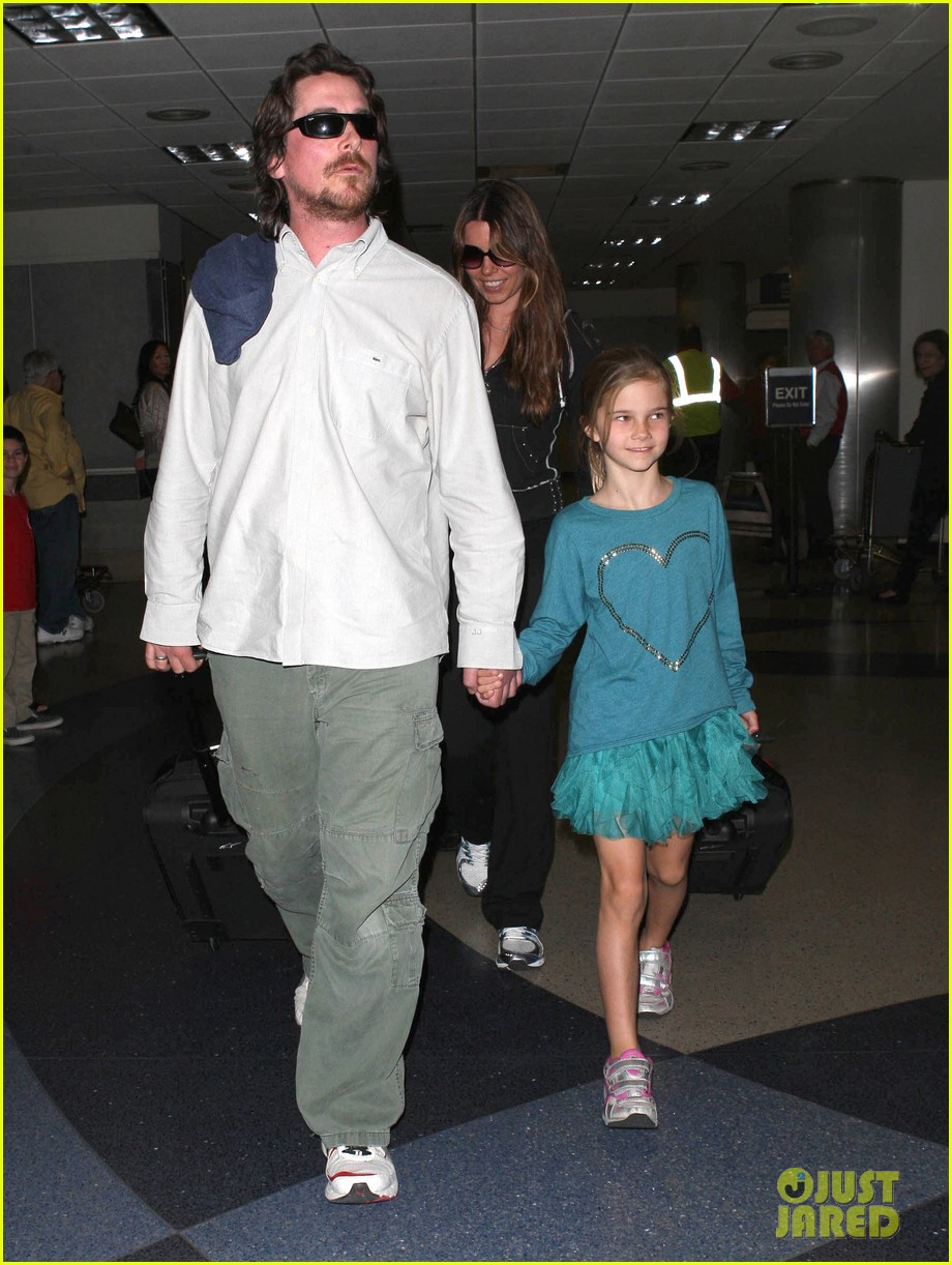 christian bale post birthday family flight 132802524