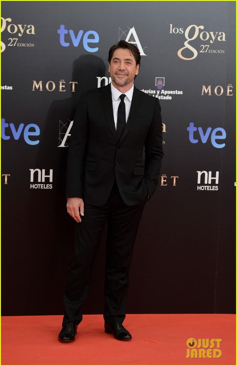 javier bardem goya awards after penelope cruz pregnancy confirmation 042814291